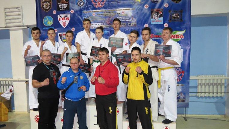 9 каратистів з Полтавщини завоювали медалі Чемпіонату України