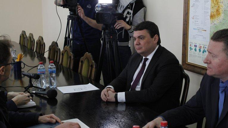 Пісоцький відзвітувався про децентралізацію перед ОБСЄ