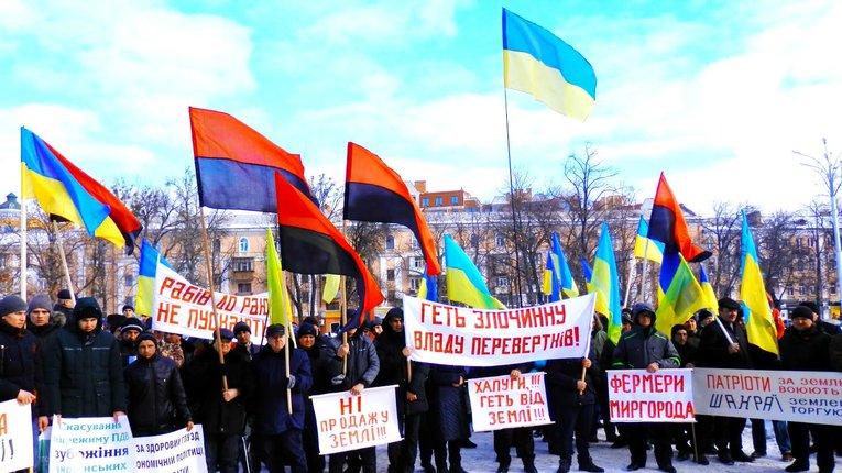 Фермери: В Україні ще не було настільки нікчемної, злодійкуватої та лицемірної влади!