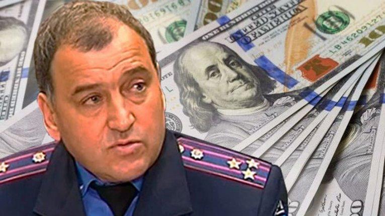 Біглий начальник полтавської ДАІ Блажівський засвітився у топ-15 хабарників під «заставою»