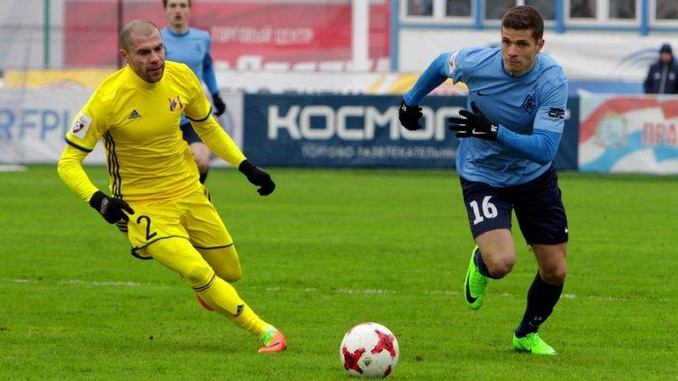 Екс-ворсклянин Громов зіграв перший матч у Росії