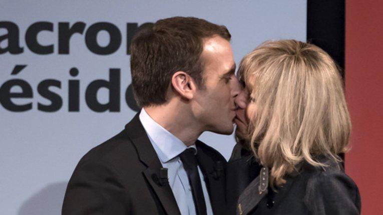 Кандидат у президенти Франції молодший за свою дружину на 25 років