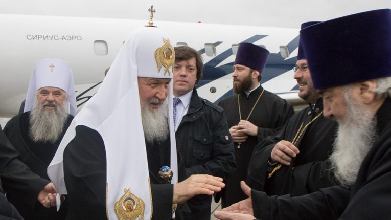 Намолив? Фото фешенебельного літака патріарха Кирила шокувало мережу