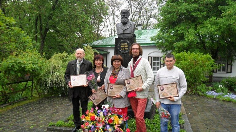 6 полтавців стали лауреатами премії імені Панаса Мирного