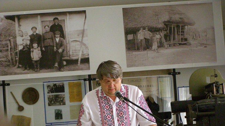 Історик Віктор Ревегук представив книгу про внесок Полтавщини в Українську Революцію