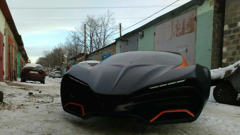 В Україні розробили концепт електричного суперкара (фото)