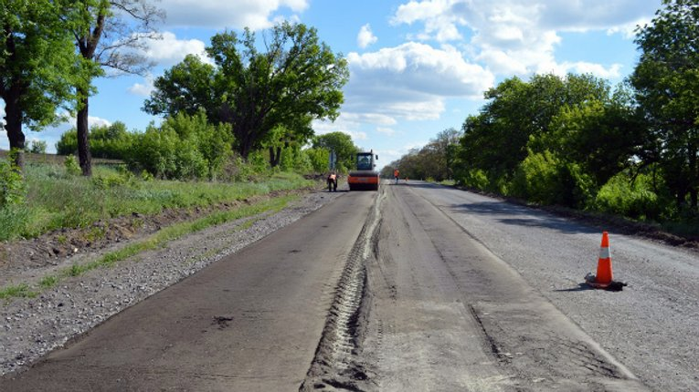 138 млн грн витратять на ремонт траси між Кременчуком і Горішніми Плавнями