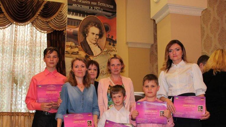 2 «золота» та «бронза»: полтавці зайняли перші місця на конкурсі імені Бетховена