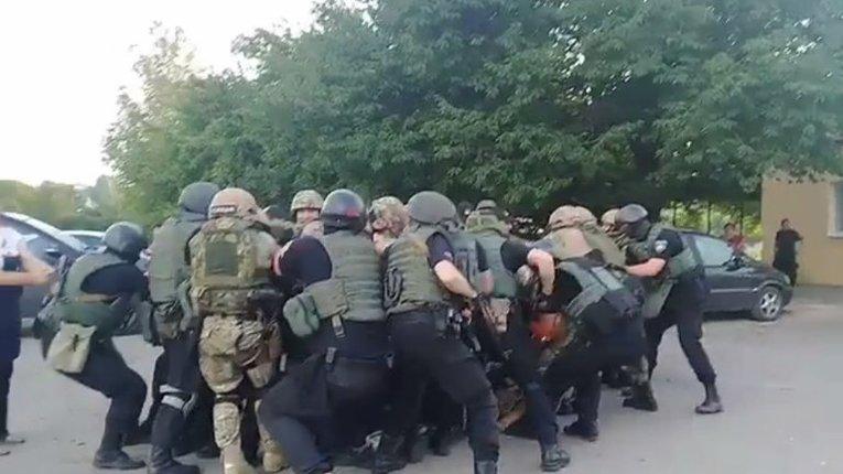 Під Кропивницьким аваківські пси жорстоко побили ветеранів АТО