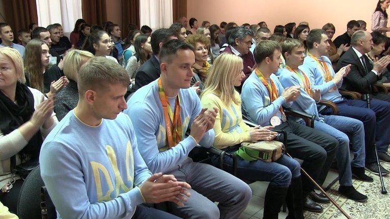 9 полтавських паралімпійців отримуватимуть президентські стипендії