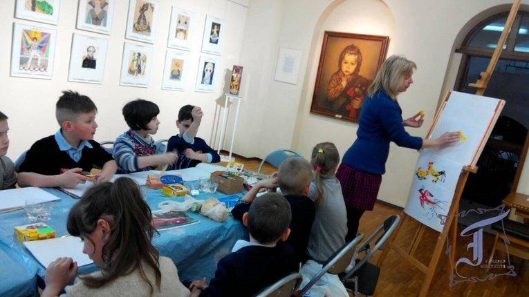 Полтавцям відкрили конкурс дитячого мистецтва імені Саші Путрі