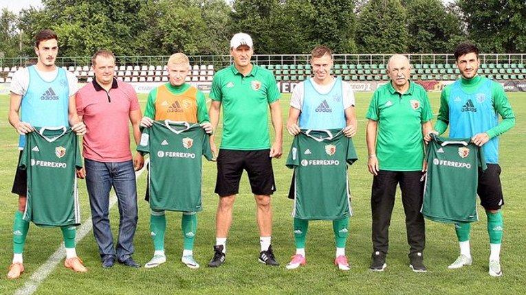 «Ворскла» представила 4 новачків-збірників та призначила капітана команди