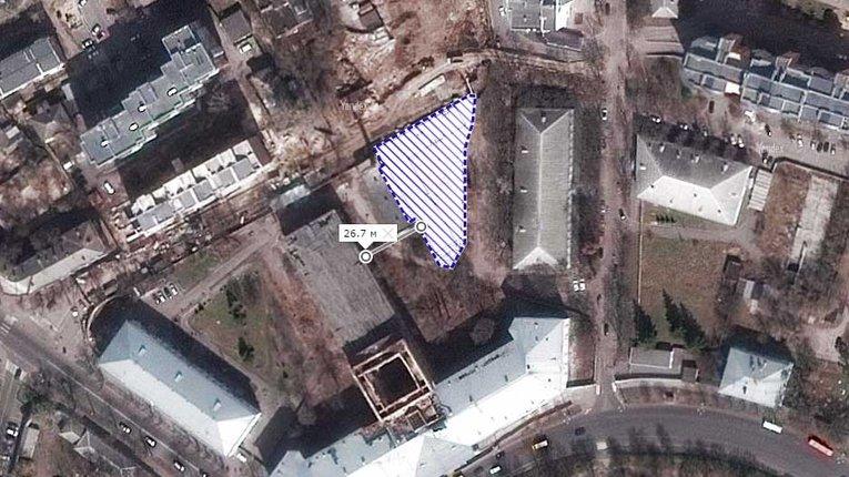 Будинок на території Кадетського корпусу не забудовуватимуть