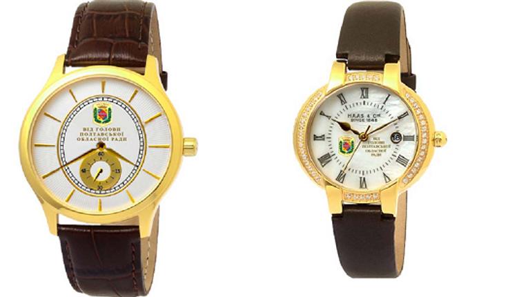 24 швейцарських годинники з «камінцями» Swarowsky закупить Полтавська облрада
