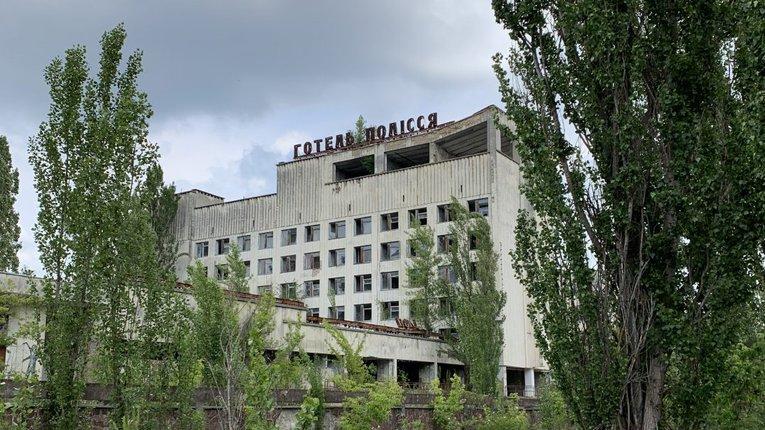 Поблизу Чорнобиля виросли гігантські квіти (фото)
