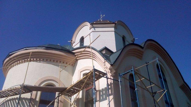 У Біликах добудовують найбільший на Полтавщині греко-католицький храм (фото)