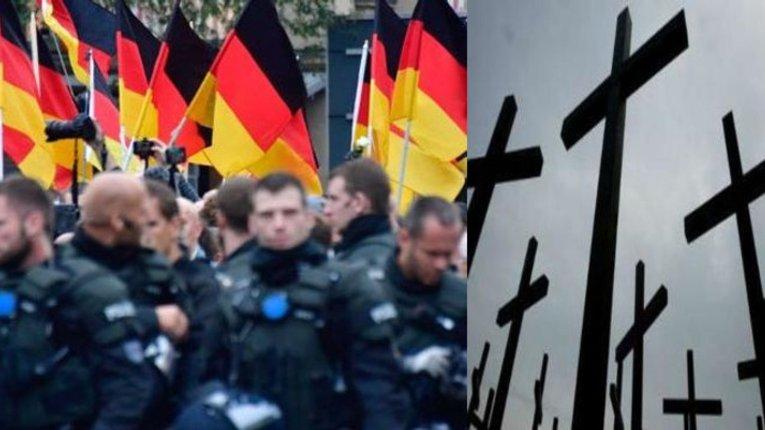 «Це не толерантно»: у ФРН поліція демонтувала пам'ятні знаки на згадку про вбитих мігрантами німців