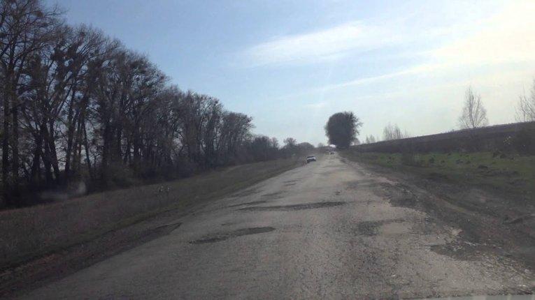 Стан дороги Лохвиця-Чорнухи — незадовільний