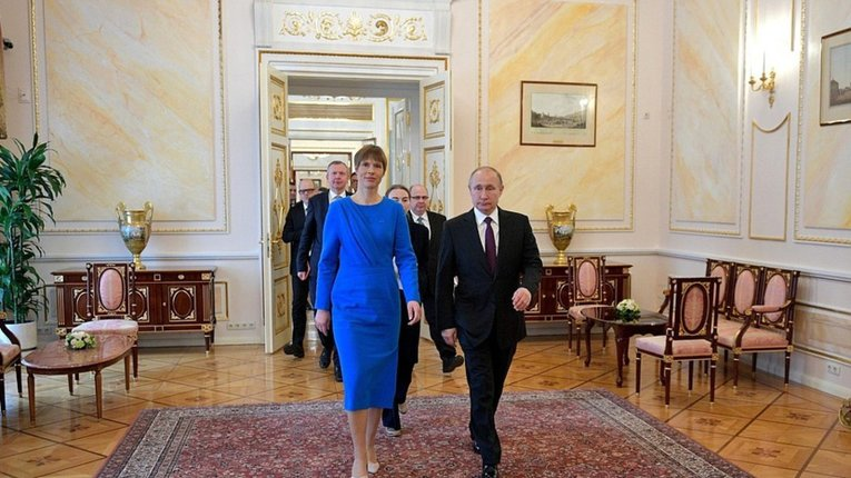 Президент Естонії налагоджує діалог з Путіним