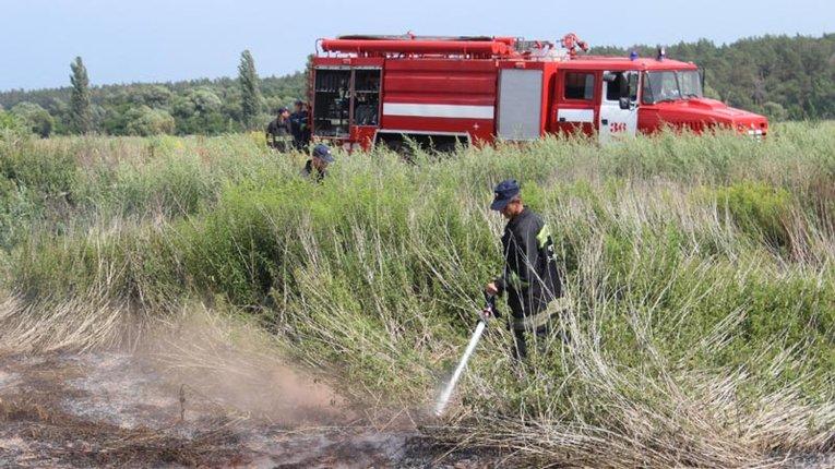 В Оржицькому районі палають торф'яники