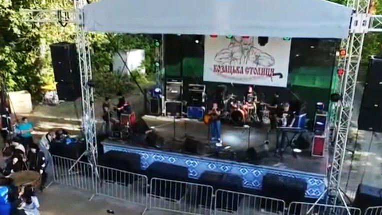 Козацький рок-фестиваль відгримів у Гадячі