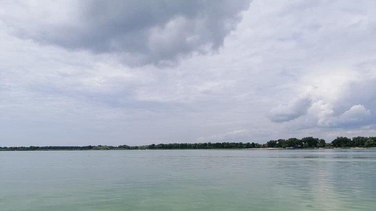 Дніпровська вода зазеленіла поблизу Кременчука