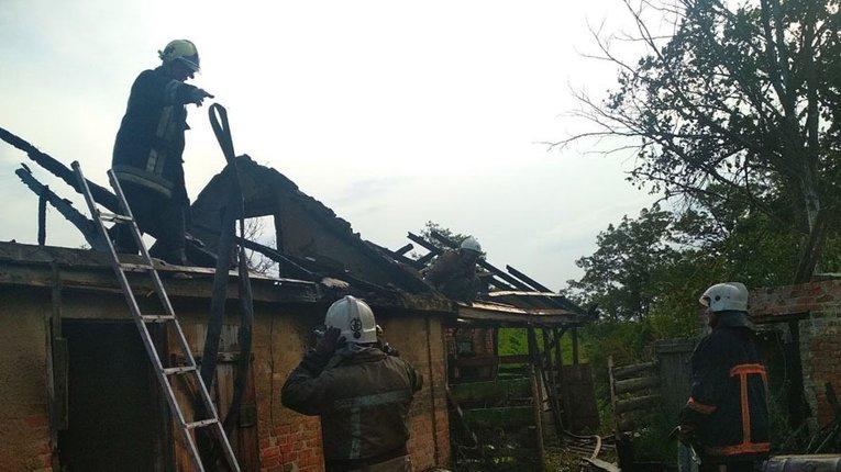 На Полтавщині під час пожежі загинула дитина