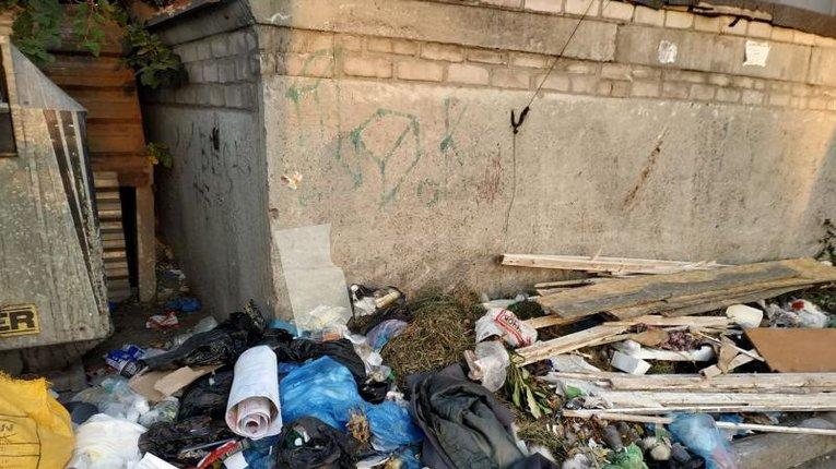 Сміттєвий скандал у Кременчуці