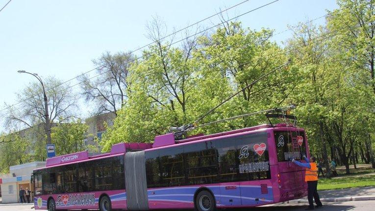 Кременчуцькі тролейбуси тимчасово не ходять до нафтопереробного заводу