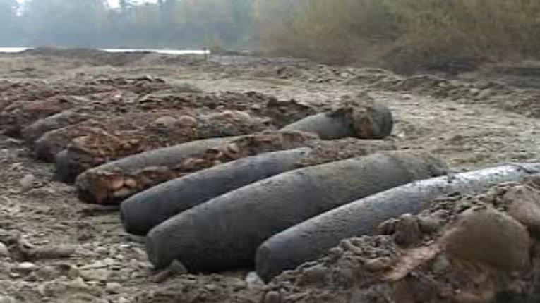 В Оржицькому районі виявили понад три сотні боєприпасів часів Другої світової