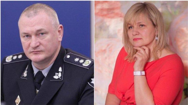 Екс-дружина очільника Національної поліції таємно вивозила валюту упродовж року