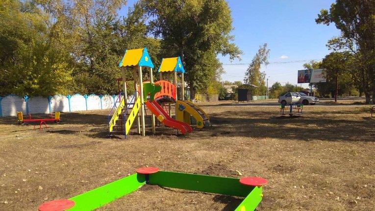 Діти Нової Галещини отримали ігровий майданчик