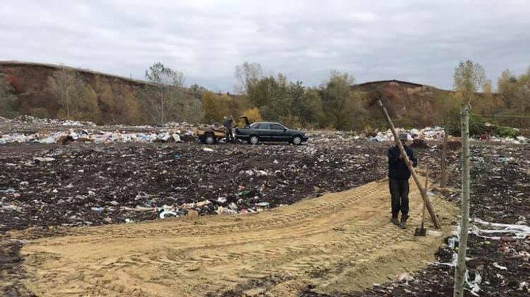Влада Опішні зменшує територію місцевого сміттєзвалища