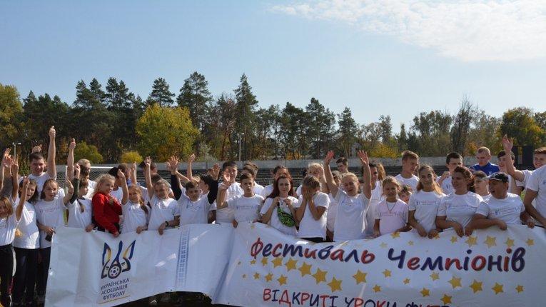 «Відкриті уроки футболу» провели серед юнацтва Миргорода
