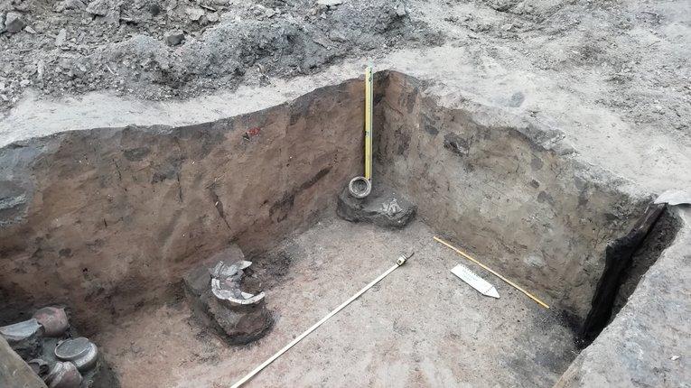 Нові археологічні відкриття у Полтаві: садиби козацької старшини, скіфське поселення та кілька тисяч фрагментів кераміки.