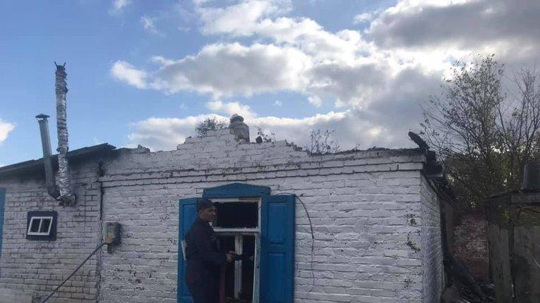 Влада Опішні закликає громаду допомогти родині, постраждалій від пожежі