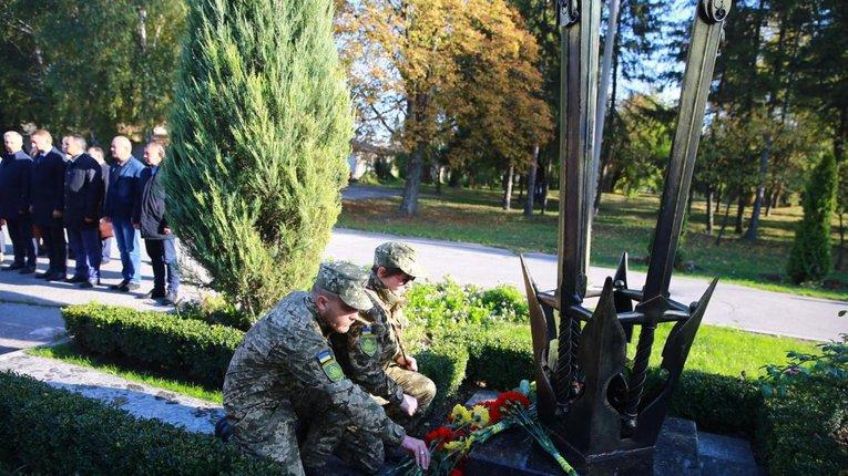 Кременчук долучився до вшанування захисників України