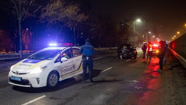 У Чернігівській області поліцейський на смерть збив велосипедиста