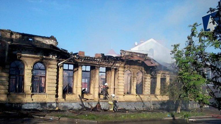 Кадетський корпус охороняє фірма, пов'язана з готелем на місці спалених класів Базилевич