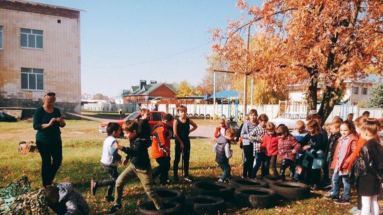 Вихованці Щербанівського ліцею на Полтавщині змагались у патріотичному квесті