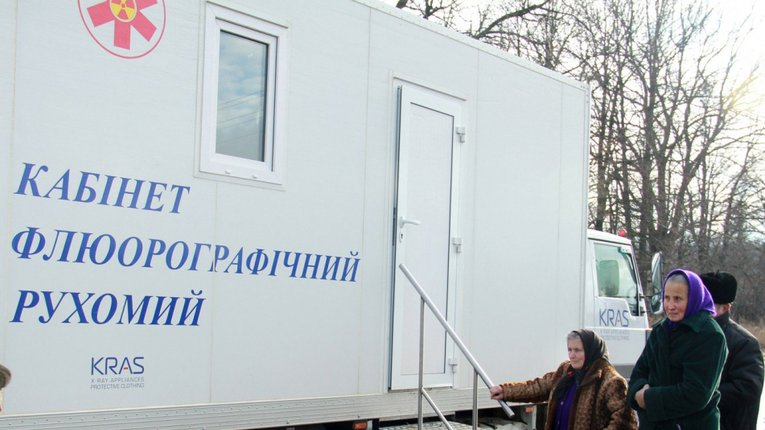 Мешканців Недогарківської ОТГ запрошують пройти обстеження на флюорографі