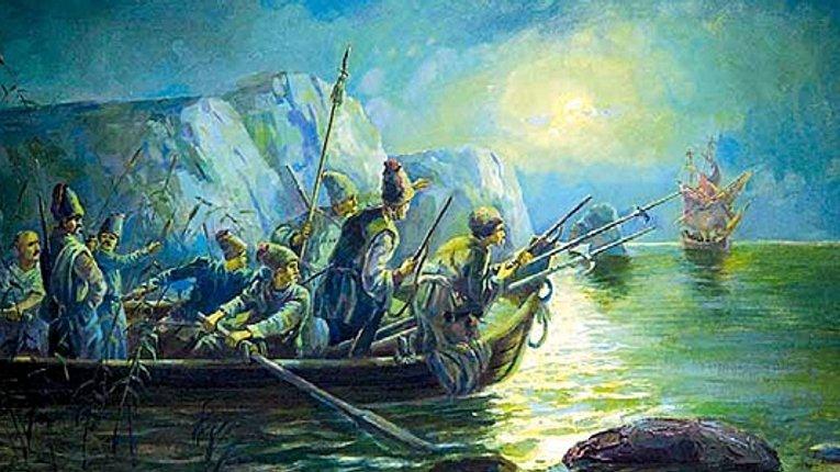 Як козаки проти шведів у Балтійському морі воювали
