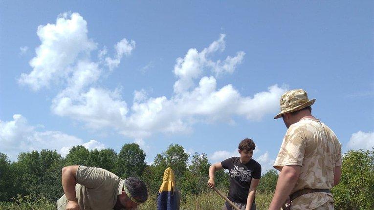 Рідкісні знахідки з розкопок поблизу Глинського на Полтавщині