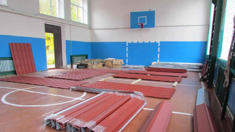 В одній зі шкіл Лохвицького району триває реконструкція