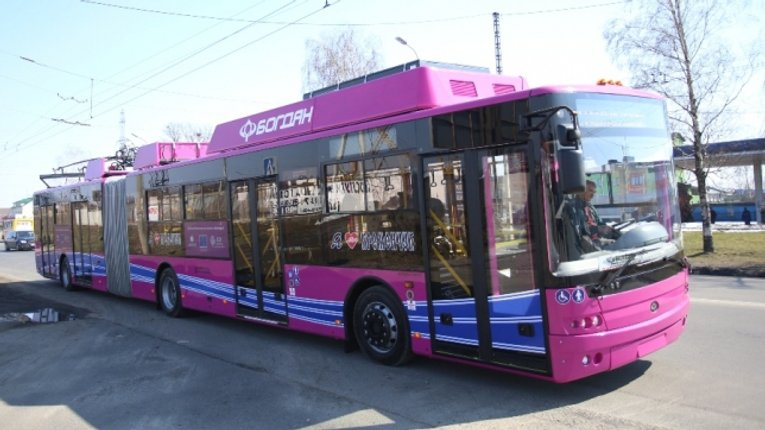 Тролейбуси з автономним ходом будуть курсувати у віддалені райони Кременчука
