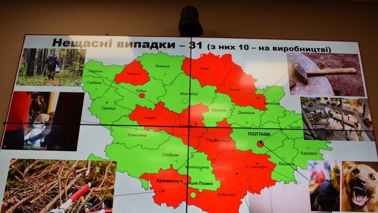 Випадків отруєнь чадним газом побільшало на Полтавщині