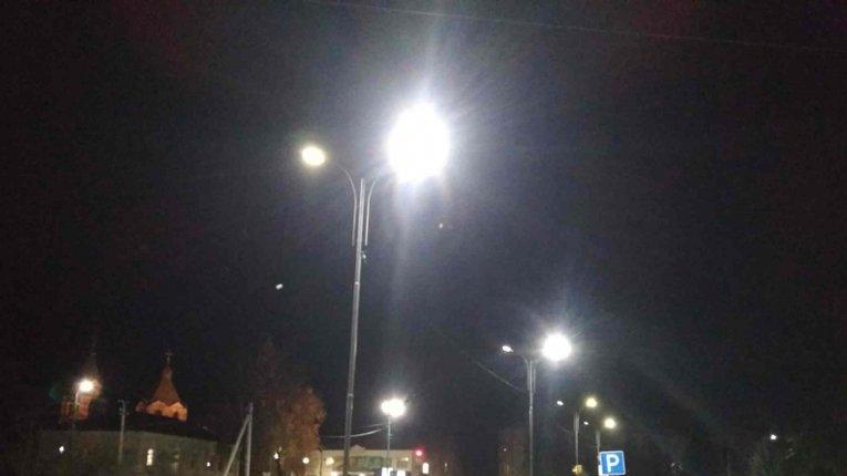У Лохвиці на Полтавщині реалізують проєкт з вуличного освітлення