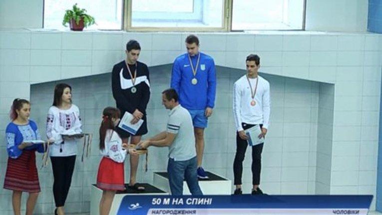 Полтавець завоював золото на Кубку України з плавання