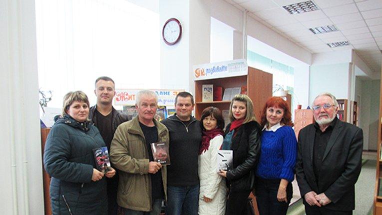 Учасник бойових дій презентував збірку своїх віршів у Лубнах