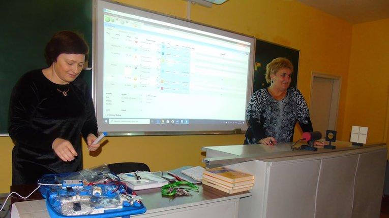 Семенівський навчально-виховний комплекс на Полтавщині отримав нове технічне обладнання